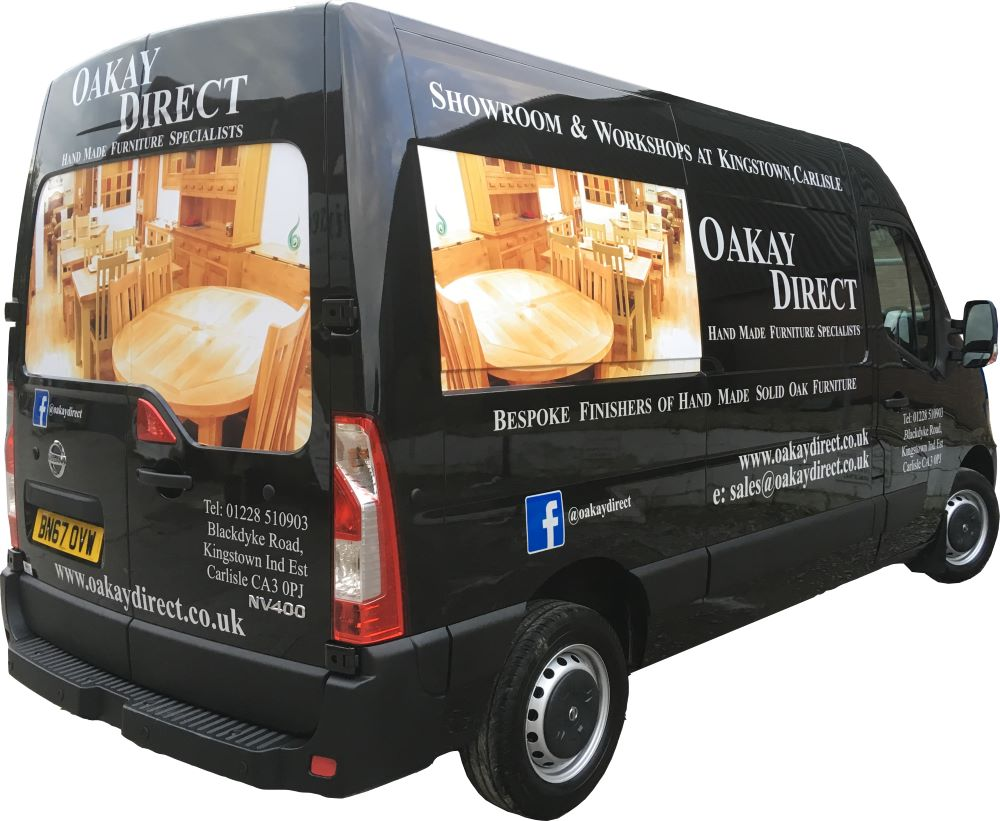 Oakay Direct - UK Bespoke Oak Furniture Manufacturer