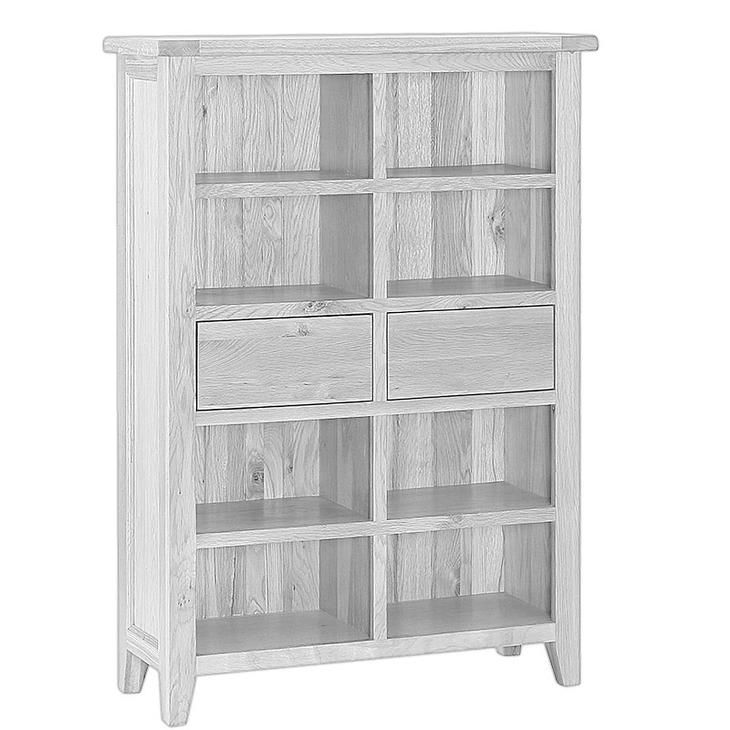 2 Drawer Bookcase Wide